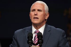 Democrat questions Pence, Perry on travel to Ukraine