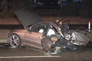 WA Police officer recalls 'terrible' screams from crash wreck after fatal Perth high-speed chase