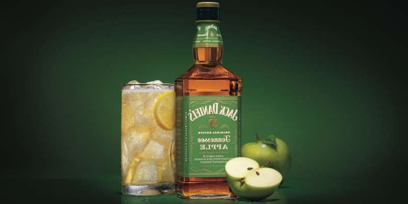 a close up of a bottle: Jack Daniels announced this week it released Jack Daniel's Tennessee Apple, which already sounds like it belongs in all of your fall cocktails.