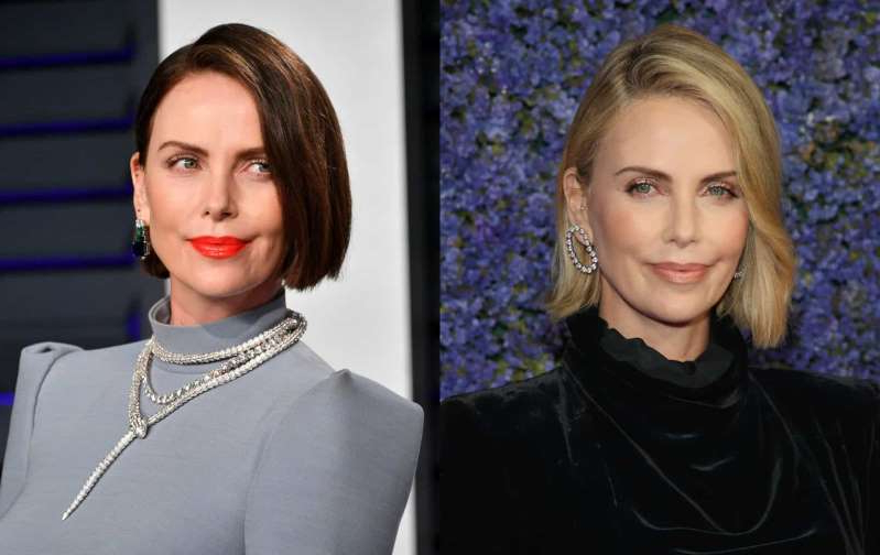 Charlize Theron, Charlize Theron posing for the camera: Coco Chanel once said,