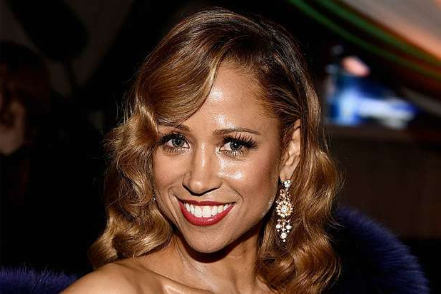 a close up of Stacey Dash
