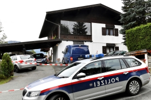 Austrian police: Man kills 5 in Alpine resort of Kitzbuehel