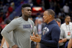 'Not drinking that Kool-Aid': Pelicans' Alvin Gentry won't compare Zion Williamson to LeBron James
