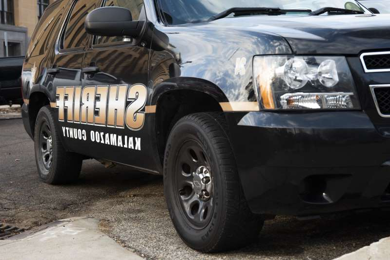 a car parked in a parking lot: The Kalamazoo County Sheriff's Office has identified the driver of a vehicle involved in a fatal accident Oct. 8, 2019, as Myrna Jones.