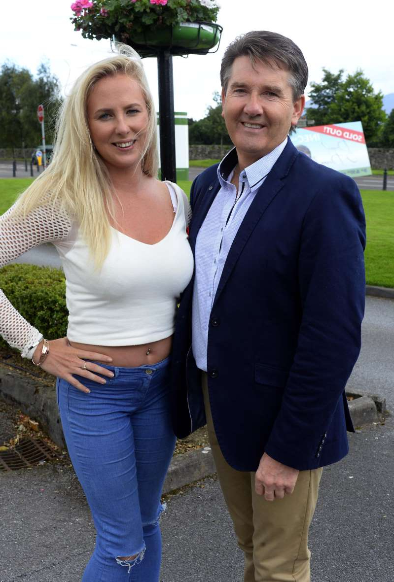 Daniel O'Donnell and woman posing for a picture: Molly Sloyan: Daniel O'Donnell fan had €70,000 of cocaine for supply. Picture: Don MacMonagle