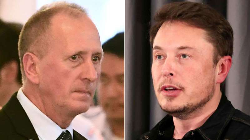 Elon Musk wearing a suit and tie smiling and looking at the camera: Elon Musk and Vernon Unsworth are set for a court battle