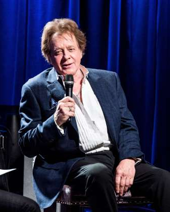 Slide 14 of 172: LOS ANGELES, CA - MARCH 20:  Eddie Money speaks during An Evening With Eddie Money at The GRAMMY Museum on March 20, 2018 in Los Angeles, California.  (Photo by Timothy Norris/Getty Images)