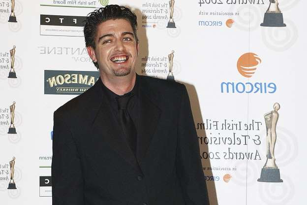 Slide 40 of 172: Karl Shiels attends the Irish Film and Television Awards in the Burlington Hotel on October 30, 2004 in Dublin, Ireland.