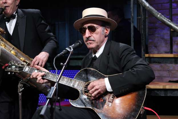 Slide 70 of 172: LATE NIGHT WITH JIMMY FALLON -- Episode 648 -- Pictured: Leon Redbone -- (Photo by: Lloyd Bishop/NBC/NBCU Photo Bank via Getty Images)