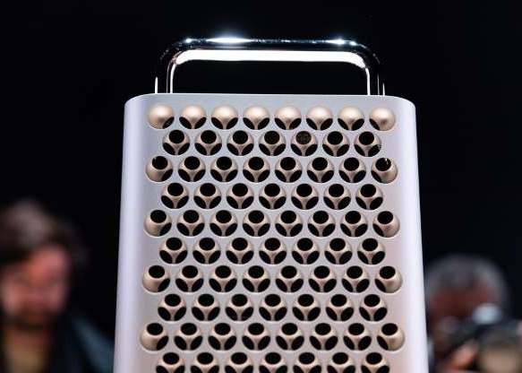 a close up of a device: That makes the new Mac Pro distinct from most modern Apple devices, which are designed to be upgraded rather than easily modified (or repaired).