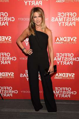 Slide 14 of 55: NEW YORK, NY - DECEMBER 05: Jennifer Aniston attends the Paramount Pictures with The Cinema Society & Svedka host a screening of