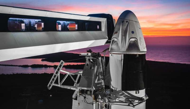 The SpaceX Crew Dragon will head to the ISS on its first test flight.