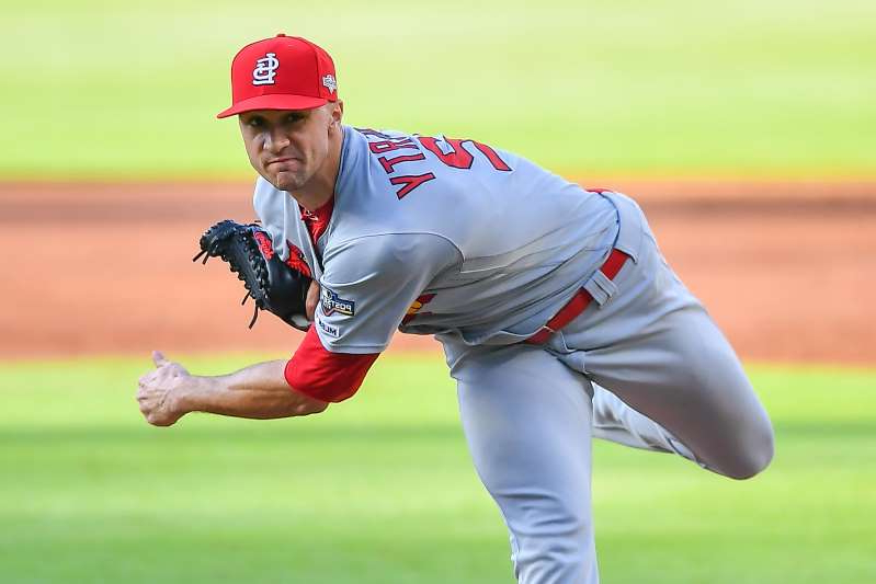 a man throwing a baseball on a field: Jack Flaherty could have exited early on Wednesday The Cardinals still gave him a full workload. (Photo by Rich von Biberstein/Icon Sportswire via Getty Images)