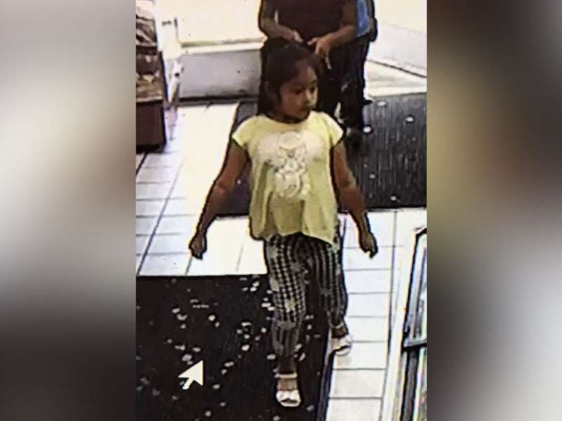 a person standing in a room: An Amber Alert has been issued for Dulce Maria Alavez, 5, in Bridgeton, N.J.