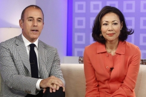 Ann Curry Shows Support for Matt Lauer's Accuser Brooke Nevils