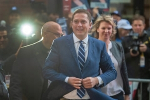 In Quebec, Andrew Scheer fights to erase memories of a bad debate, keep campaign hopes alive