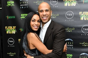 Rosario Dawson and Cory Booker Make Rare Red Carpet Appearance at Environmental Doc Premiere