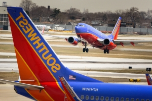 Southwest Airlines flight diverted: Man assaulted flyers, police say