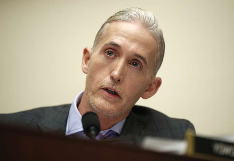 Trey Gowdy looking at the camera: Image: Trey Gowdy