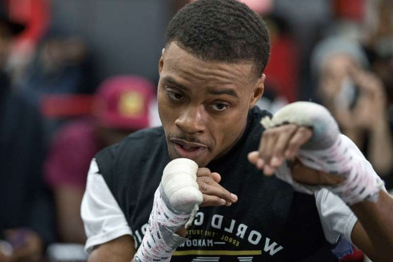 World champion boxer Errol Spence Jr, 29, is in a 'serious condition' in hospital after crashing and flipping his Ferrari at 3am, while not wearing a seatbelt on his way home from a Dallas nightclub