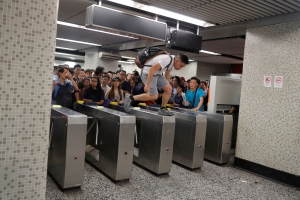 Hong Kong's metro, legislature open but more protests planned for weekend
