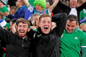 NI fans subjected to 'dangerous' crowding