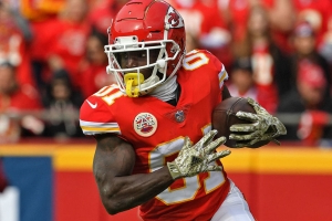 Report: Chiefs optimistic Hill will be cleared to return vs. Texans