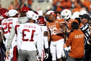 Entire Oklahoma and Texas teams get unsportsmanlike conduct penalties before Red River Showdown