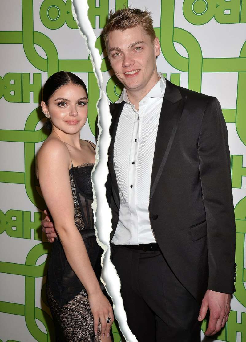 Levi Meaden, Ariel Winter posing for the camera: Levi Meaden and Ariel Winter attend the HBO Golden Globes After Party on January 6, 2019 in Los Angeles, California.