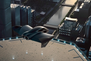 Porsche and Boeing announce flying car project