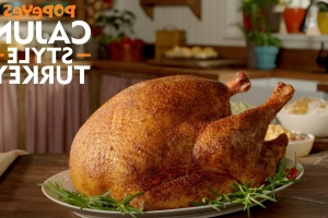 You Can Pre-Order A Cajun-Style Turkey From Popeyes For Thanksgiving And Holidays Just Got A Whole Lot Easier