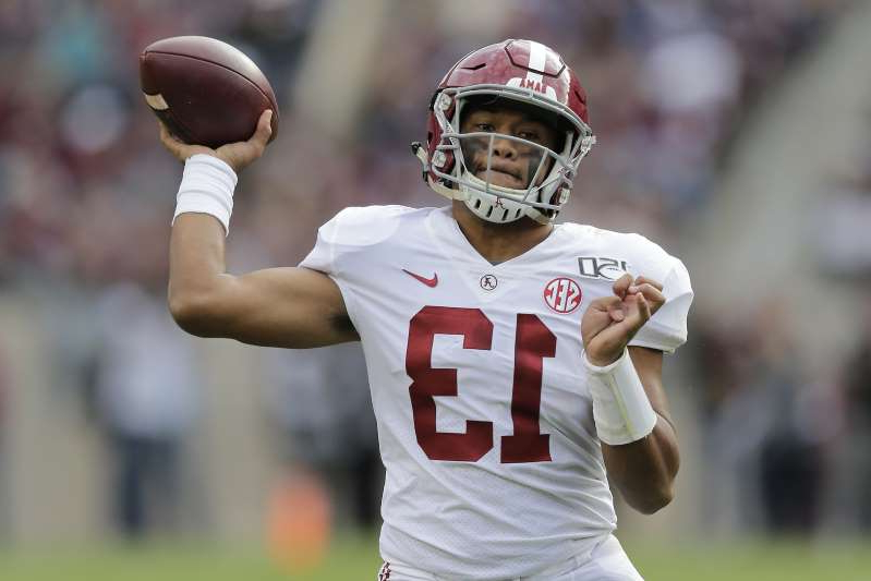 Tagovailoa, No. 1 Tide roll past No. 24 Texas A&M