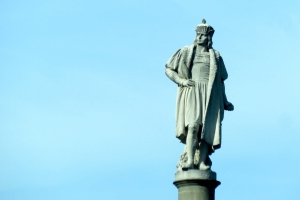 Hail Columbus the Italian: His statue stands tall for a great people