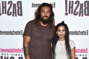 Jason Momoa Says He's 'So Freaking Stoked' That Stepdaughter Zoë Kravitz Is Playing Catwoman