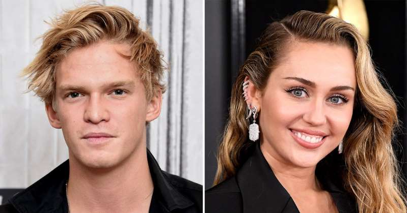 Miley Cyrus, Cody Simpson posing for the camera: Miley Cyrus and Cody Simpson Are 'Both Sober' and 'Focused on Health and Work' Amid Romance: Rep