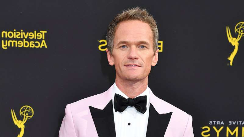 Neil Patrick Harris wearing a suit and tie