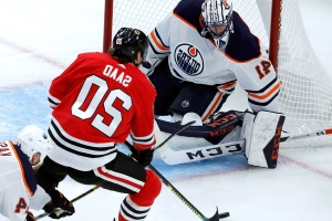 Oilers accept blame as they lose perfect record in defeat to Blackhawks