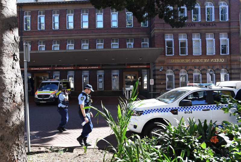 The young man charged over a woman's violent death and a subsequent stabbing in Sydney's CBD in August has been charged with possessing child abuse material.