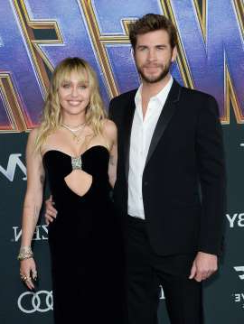 Liam Hemsworth, Miley Cyrus posing for the camera: For some celebs, wedded bliss isn't all it's cracked up to be. Join Wonderwall.com as we take a look at the famous couples who dated longer than they were able to stay married... starting with Liam Hemsworth and Miley Cyrus, who announced that they'd split less than eight months after they said