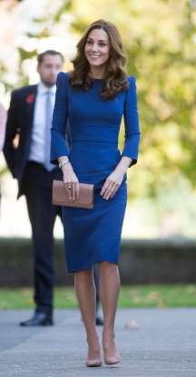 Slide 73 of 183: Catherine Duchess of Cambridge visits the Imperial War Museum, London, UK - 31 Oct 2018