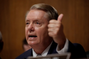 Trump smacks down Graham after latest Syria broadside