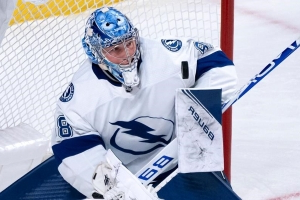 Vasilevskiy solid in net as Lightning defeat Canadians 3-1
