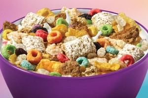 You Can Buy A Box Of Frosted Flakes, Froot Loops, And Rice Krispies All Mixed Together For One Day Only
