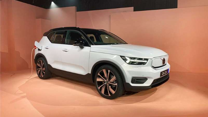 News Volvo Unveils First All Electric Vehicle Pressfrom