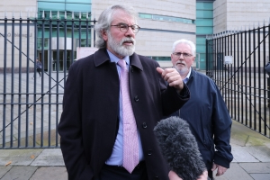IRA was legitimate response to British military occupation, says Gerry Adams