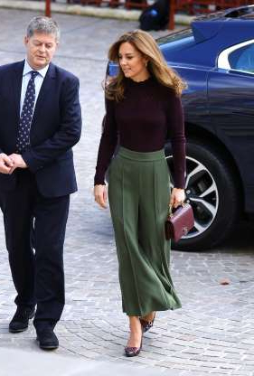 Slide 8 of 184: CAPTION: LONDON, ENGLAND - OCTOBER 09: Catherine, Duchess of Cambridge visits The Angela Marmont Centre For UK Biodiversity at Natural History Museum on October 09, 2019 in London, England. HRH is Patron of the Natural History Museum. (Photo by Tim P. Whitby/Getty Images)