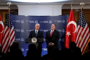 Turkey agrees to Syria ceasefire: Vice President Mike Pence
