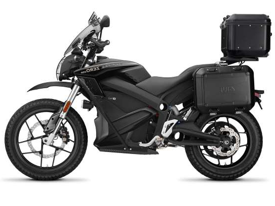 a person sitting on a motorcycle: On paper the 2020 Zero DSR Black Forest looks like a winner. Now all we need is an opportunity to test this baby so we can let you know if it lives up to the hype.