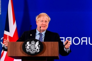 Boris Johnson can't celebrate his Brexit win for long