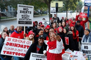 CPS strike: Negotiations continue as Chicago teacers strike for second day